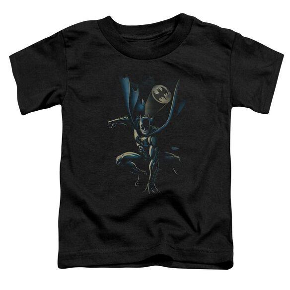 Batman Calling All Bats Short Sleeve Toddler Tee Black Md T-Shirt