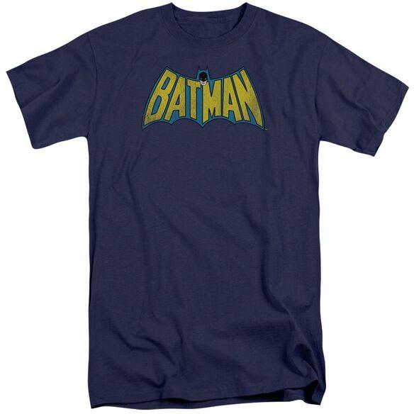 Dc Classic Batman Logo Short Sleeve Adult Tall T-Shirt