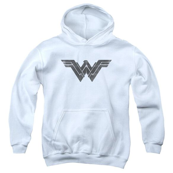 Batman V Superman Folded And Distressed Youth Pull Over Hoodie