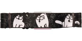 Simon's Cat Sketch Poses Seatbelt Belt