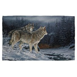 Wild Wings Twilight Hunters 2 Hand/Golf Towel (16x24)