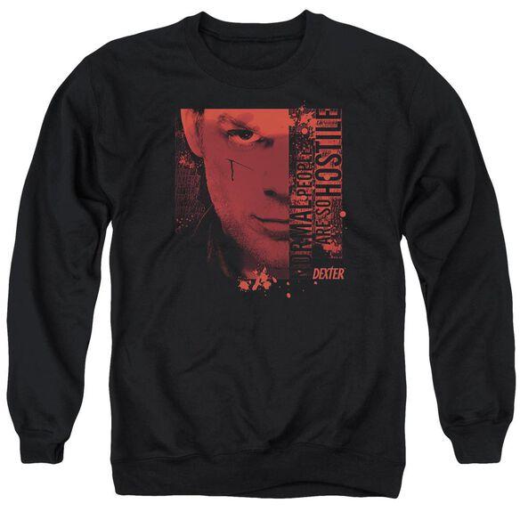 Dexter Normal - Adult Crewneck Sweatshirt - Black