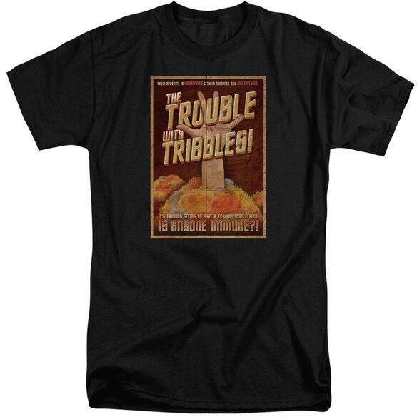Star Trek Tribbles: The Movie Short Sleeve Adult Tall T-Shirt