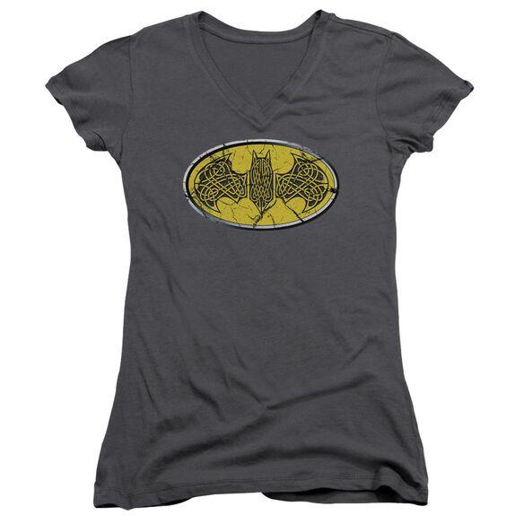 Batman Celtic Shield Junior V Neck T-Shirt
