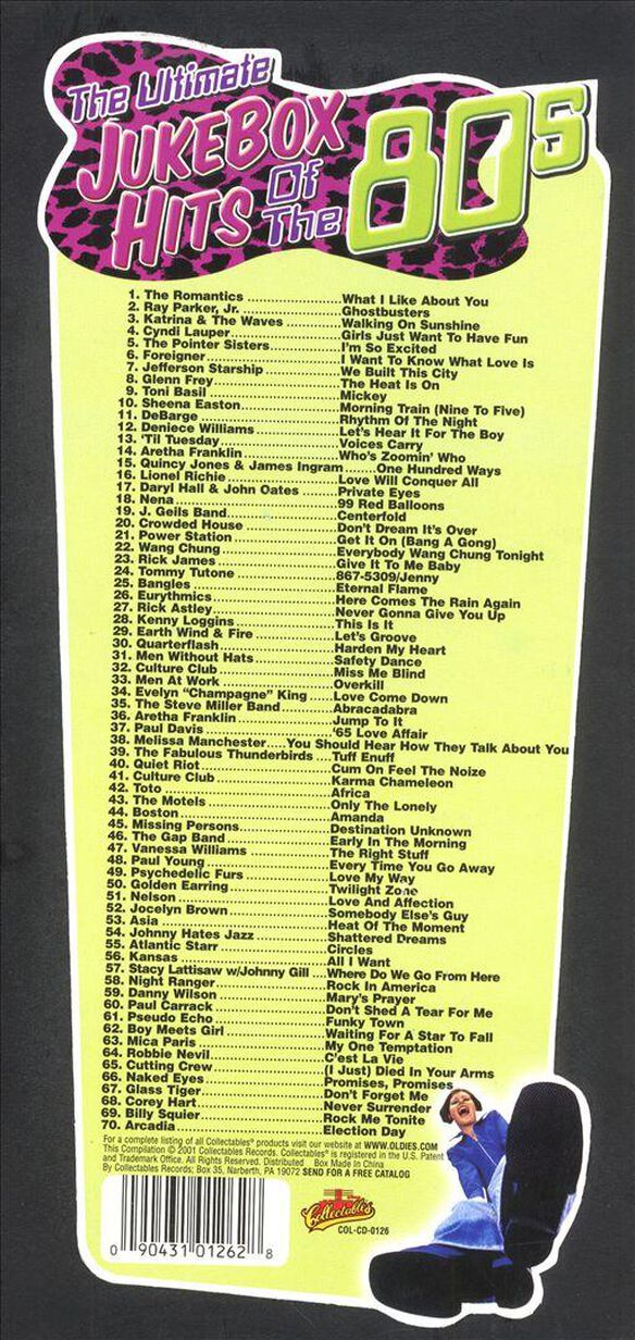 Jukebox Hits Of 80's