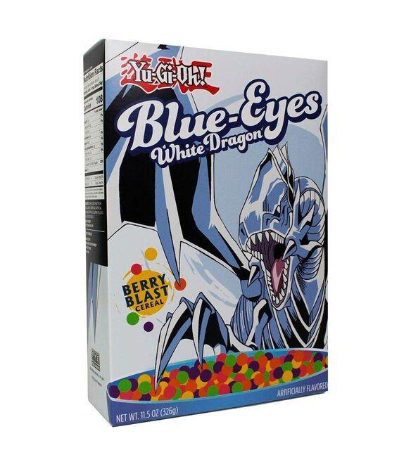 Blue Eyes White Dragon Yu-Gi-Oh Cereal