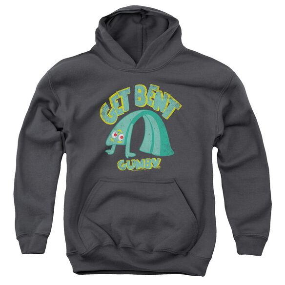 Gumby Get Bent Youth Pull Over Hoodie