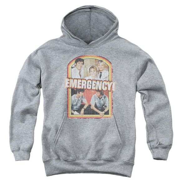 Emergency Retro Cast Youth Pull Over Hoodie Athletic