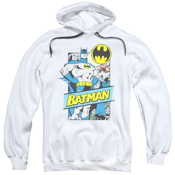 Batman Out Of The Pages Adult Pull Over Hoodie