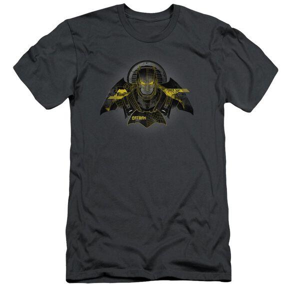 Batman V Superman Batman Tech Short Sleeve Adult T-Shirt