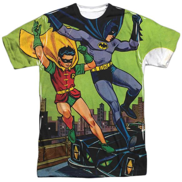 Batman Getaway Short Sleeve Adult Poly Crew T-Shirt