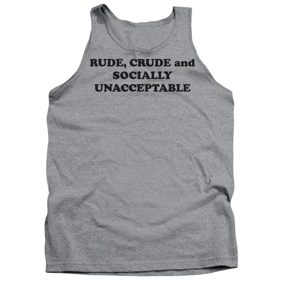 Socially Unacceptable Adult Tank Athletic