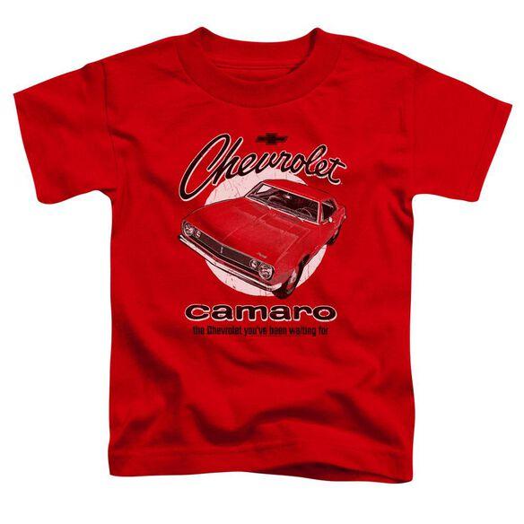 Chevrolet Retro Camaro Short Sleeve Toddler Tee Red T-Shirt