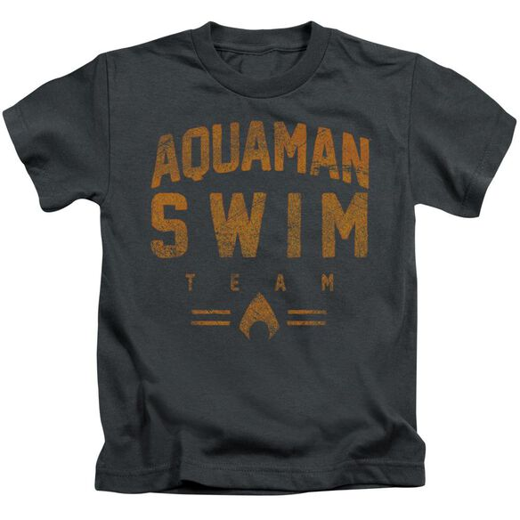 Jla Swin Team Short Sleeve Juvenile Charcoal T-Shirt