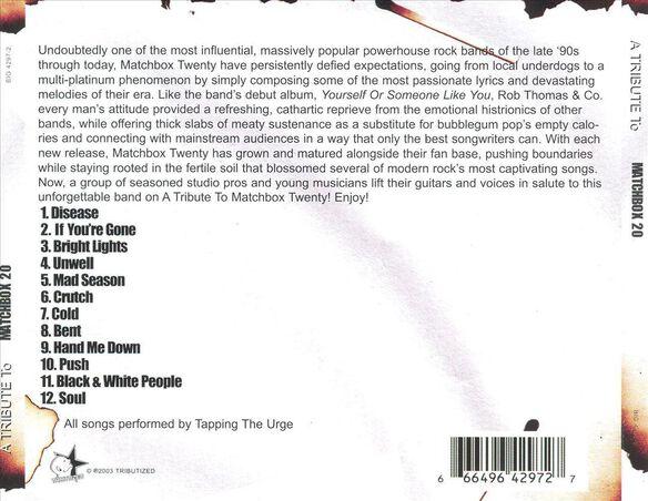 Tribute To Matchbox Twenty / Various