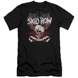 Skid Row Winged Skull Premuim Canvas Adult Slim Fit