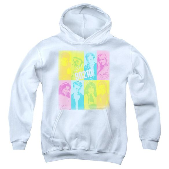 90210 Color Block Of Friends Youth Pull Over Hoodie