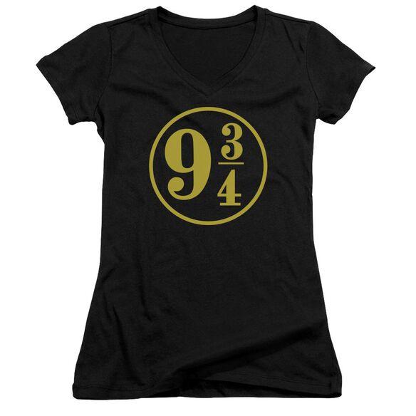Harry Potter 9 3 4 Junior V Neck T-Shirt