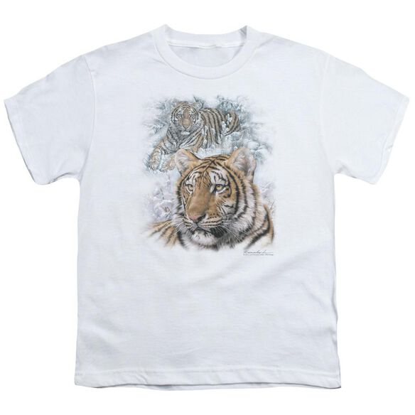 Wildlife Tigers Short Sleeve Youth T-Shirt