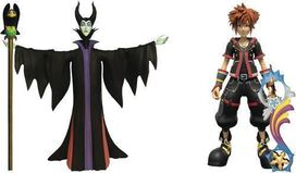 Diamond Select: Kingdom Hearts III Select Series 1 (Maleficent & Sora)