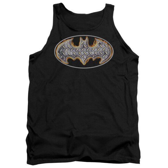 Batman Steel Fire Shield Adult Tank