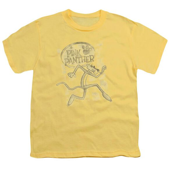 Pink Panther Catch Me Short Sleeve Youth T-Shirt