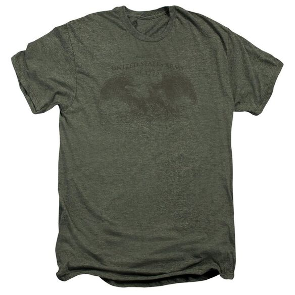 Army Property Of Short Sleeve Adult Premium Tee Moss T-Shirt