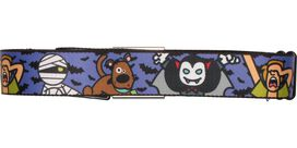 Scooby Doo Vampire and Mummy Seatbelt Mesh Belt