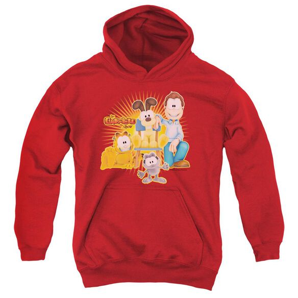 Garfield Say Cheese Youth Pull Over Hoodie