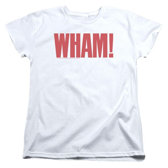 Wham Logo Short Sleeve Womens Tee T-Shirt