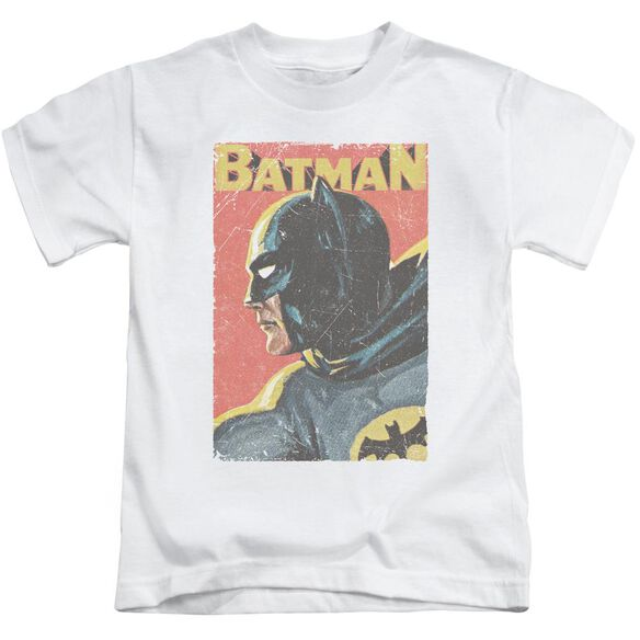 Batman Classic Tv Vintman Short Sleeve Juvenile White T-Shirt