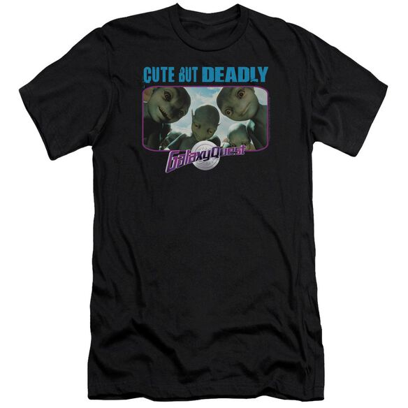 Galaxy Quest Cute But Deadly Premuim Canvas Adult Slim Fit