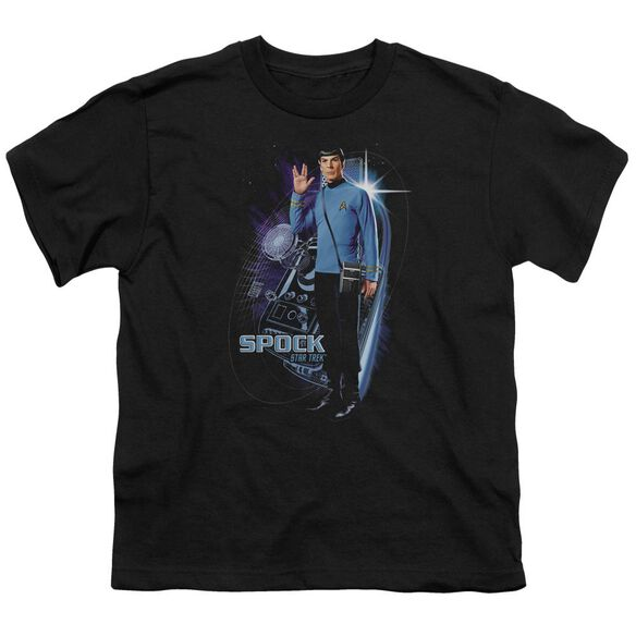 Star Trek Galactic Spock Short Sleeve Youth T-Shirt