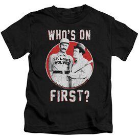 Abbott & Costello First Short Sleeve Juvenile T-Shirt