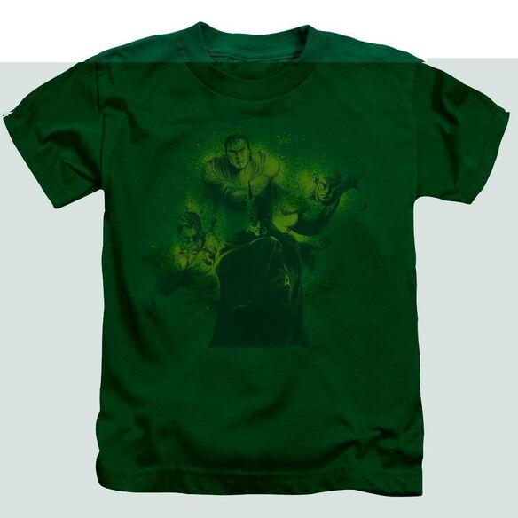 DCO SPRAY SKETCH LEAGUE - S/S JUVENILE 18/1 - KELLY GREEN - T-Shirt