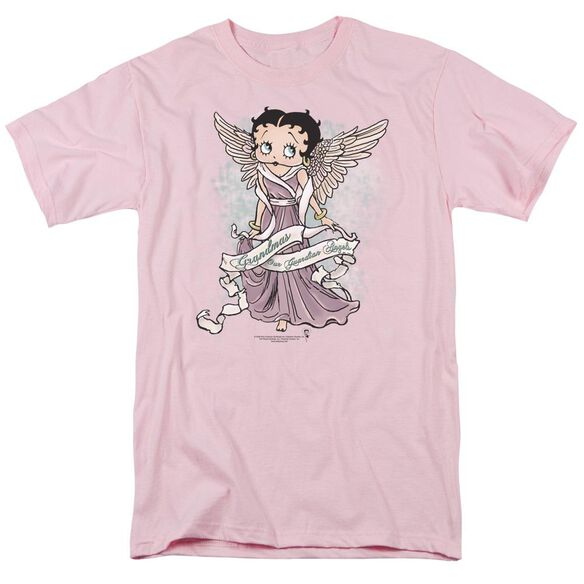 Betty Boop Grandma Guardian Angel Short Sleeve Adult T-Shirt