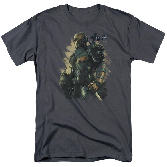 Batman Arkham Origins Deathstroke Short Sleeve Adult T-Shirt