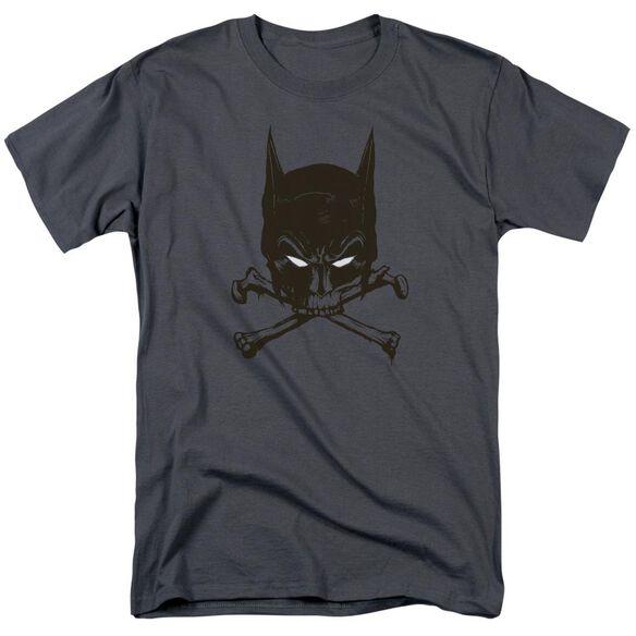 Batman Bat And Bones Short Sleeve Adult T-Shirt