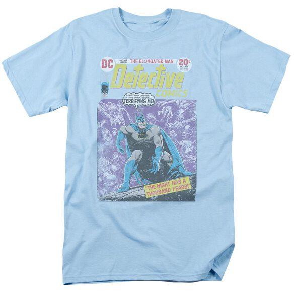 Batman A Thousand Fears Short Sleeve Adult Light Blue T-Shirt