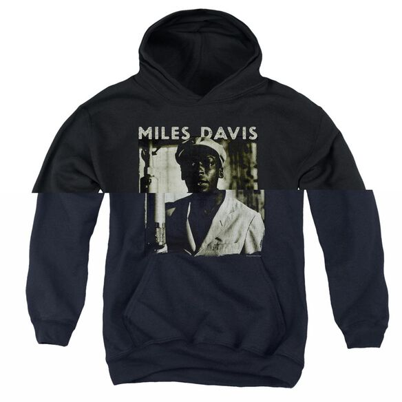 Miles Davis Miles Portrait Youth Pull Over Hoodie
