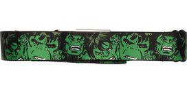 Incredible Hulk Head Collage Seatbelt Mesh Belt