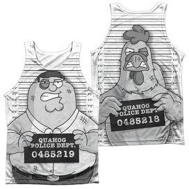 Family Guy Mug Shot (Front/back Print)-adult 100% Poly