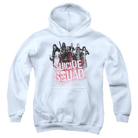 Suicide Squad Squad Splatter Youth Pull Over Hoodie