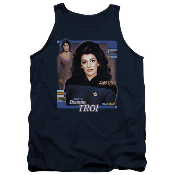 Star Trek Deanna Troi Adult Tank