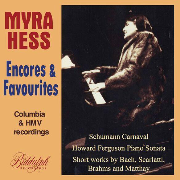 Myra Hess - Myra Hess Plays Favourite Encores