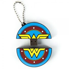 Wonder Woman Flash Drive Keychain