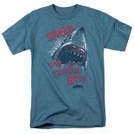 JAW MILE - S/S ADULT 18/1 - SLATE T-Shirt