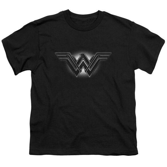 Batman V Superman Glow Emblem Short Sleeve Youth T-Shirt