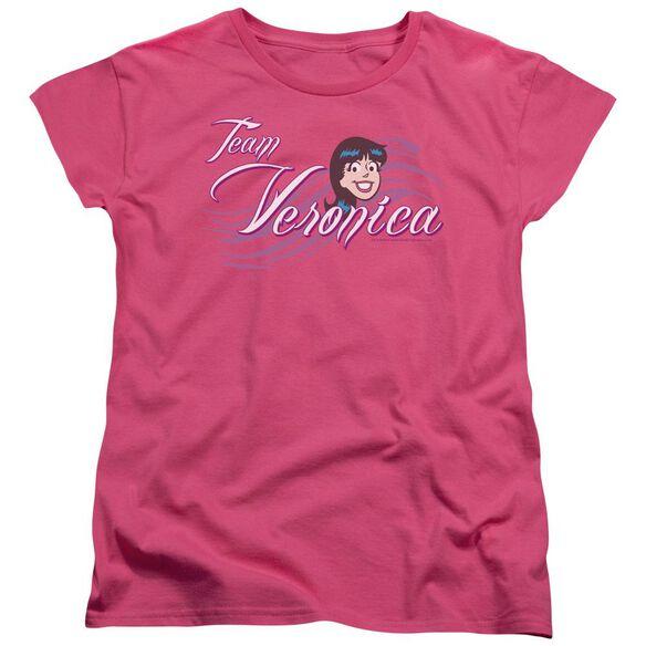Archie Comics Team Veronica Short Sleeve Womens Tee Hot T-Shirt