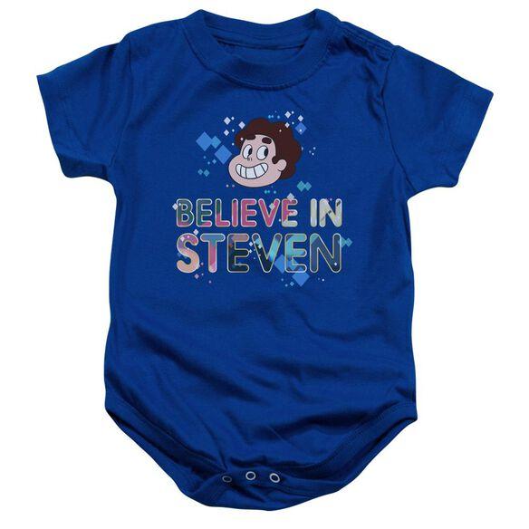 Steven Universe Believe Infant Snapsuit Royal Blue